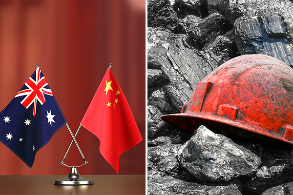 Coal exports at risk in China trade war as government turns to green energy