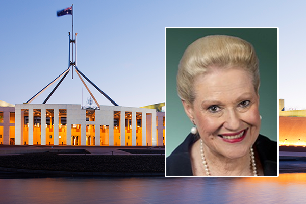 Bronwyn Bishop honoured as trailblazer for women in politics