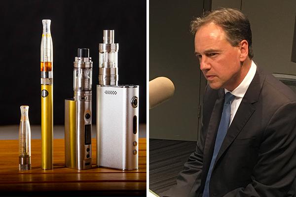 Health Minister defends decision to ban e-cigarette imports