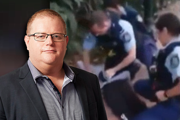 Article image for 'Deeply offensive and complete rubbish': Mark Levy outraged by criticism of police