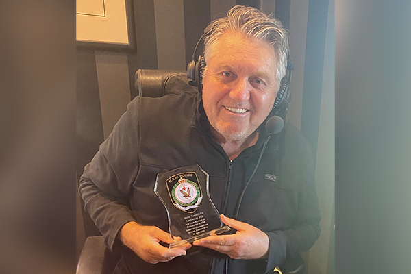 Article image for Retiring police officer's personal thank you to Ray Hadley