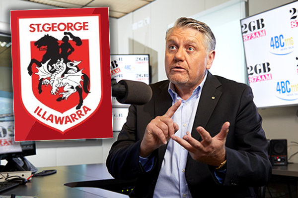Article image for 'This saga has been going on for two years!': Ray Hadley takes Dragons captain to task