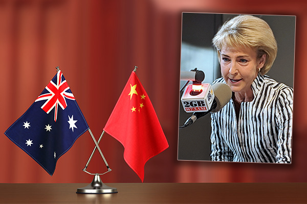 Michaelia Cash backs the Prime Minister amid racism accusations from China