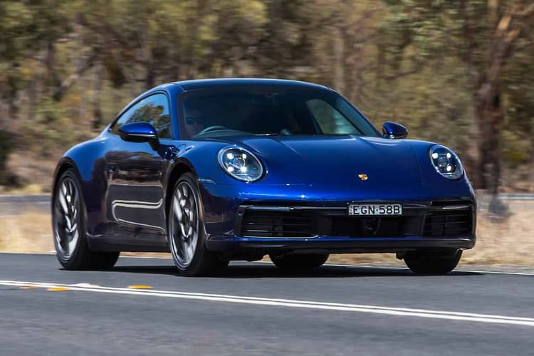 The latest Porsche 911 Carrera Coupe – an entry model but with the works.