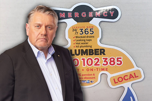 Article image for Ray Hadley's warning for Queenslanders after Plumbing Detectives exposed