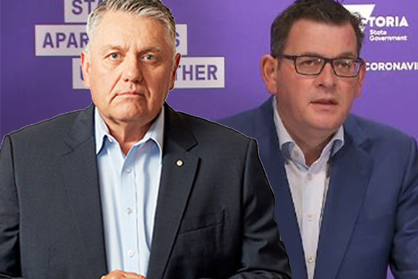 Article image for 'He's dead and buried': Ray Hadley calls time on Victorian Premier as state records over 300 cases