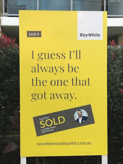 Adding humour to property signage