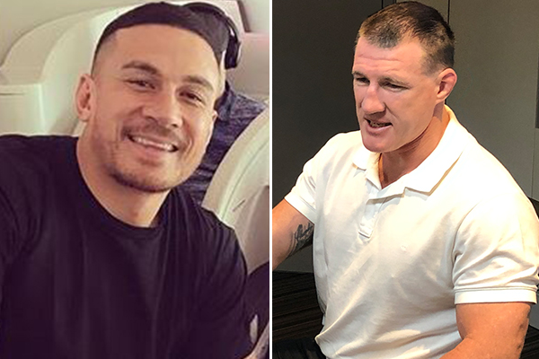 Article image for 'You're dreaming': Paul Gallen dismisses rumoured return of Sonny Bill Williams