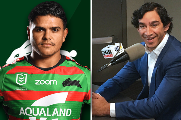 Johnathan Thurston 'extremely proud' of outspoken Latrell Mitchell