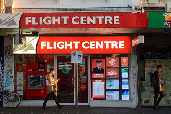 Article image for Flight Centre boss preparing legal challenge to 'recalcitrant' states