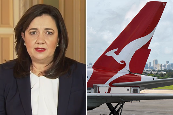Article image for 'She's acting like an autocrat': Premier blamed for horror Qantas losses