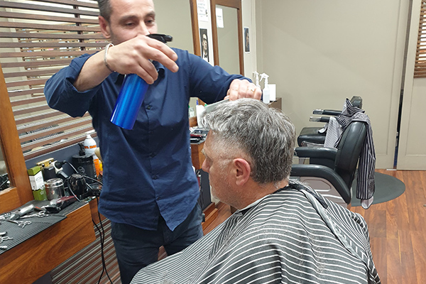 The big reveal: Ray Hadley gets his mullet cut for mental health