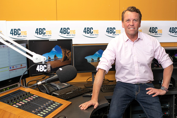 Article image for STARTS TODAY | Scott Emerson takes to the airwaves for 4BC Drive
