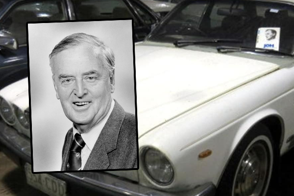 Article image for Former Queensland Premier's Jaguar to stay in Australian hands