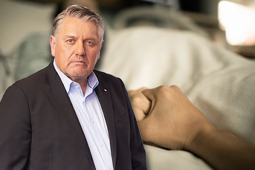 'What sort of bastardry is this?': Ray Hadley fires up over treatment of dying father