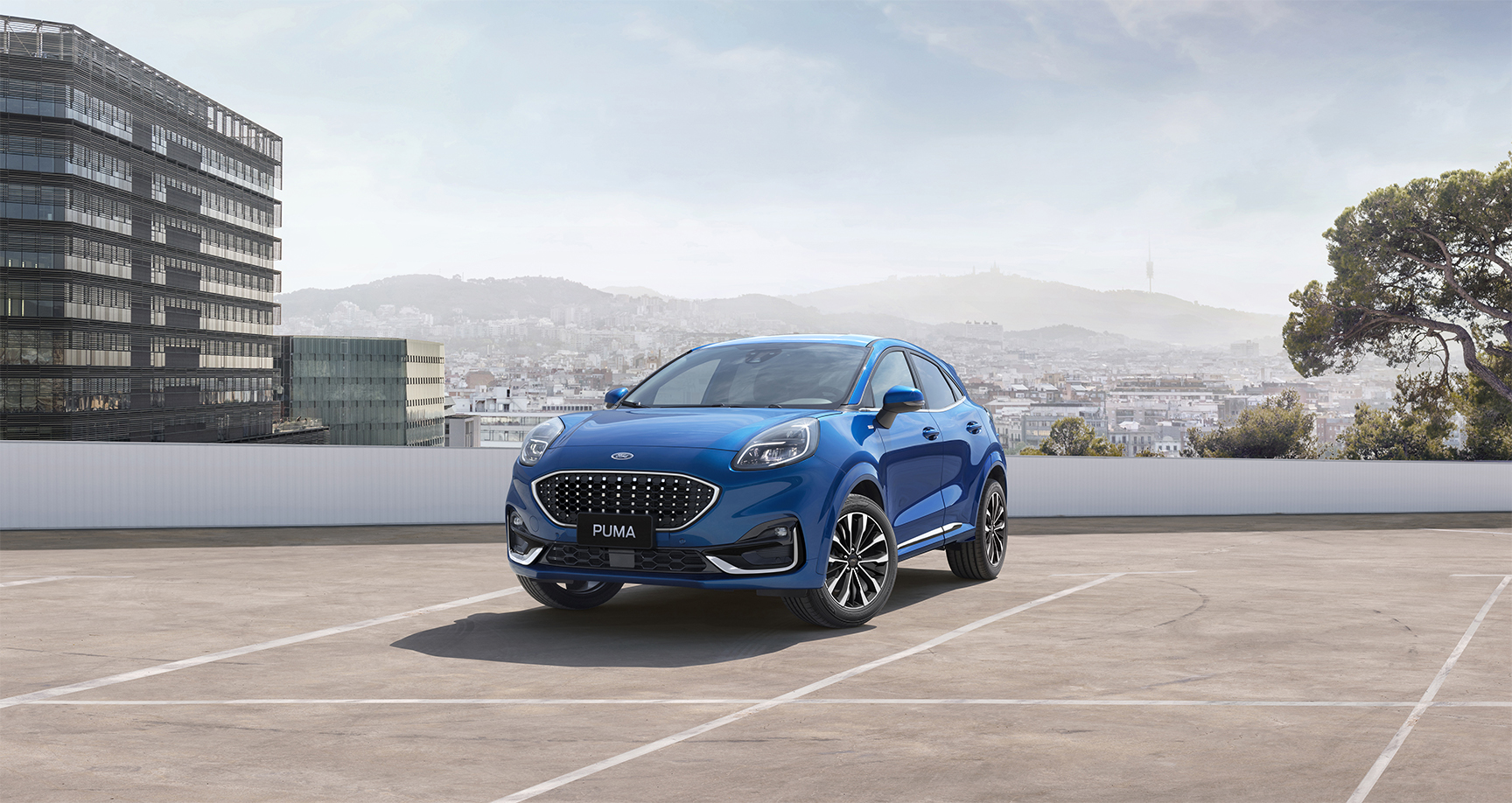 Ford's launches its a new compact Puma SUV with a series of 'Desk Drive' virtual tours.