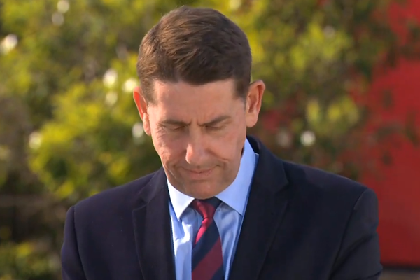 Queensland Treasurer apologises for on-air budget blunder