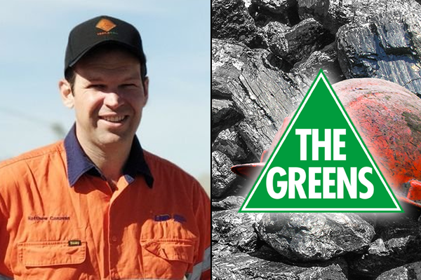 Article image for LNP Queensland Senator fawns over Green activist's 'Midas touch'