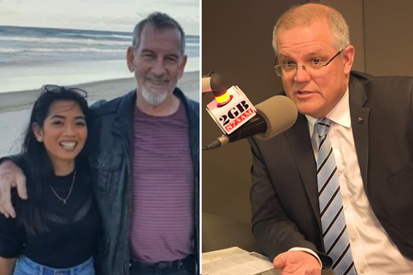 Article image for Scott Morrison responds to backlash following QLD father's funeral