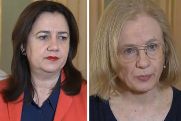 Man charged after death threats made against QLD Premier and Chief Health Officer