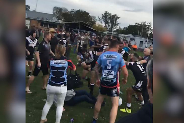 WATCH | Man on parole allegedly involved in footy fight