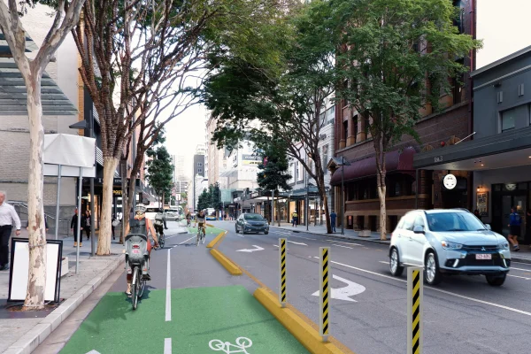 Article image for Council defends Brisbane CBD upheaval for 'significant project'