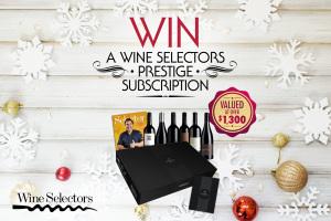 WIN a Wine Selectors Prestige Wine Subscription
