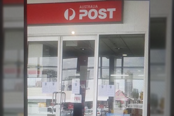 Post office 'read the riot act' over LNP corflute affair