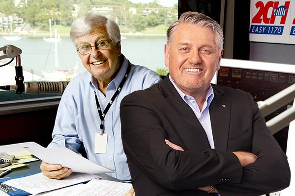 Ray Hadley farewells his friend Bob Rogers with hilarious radio tales