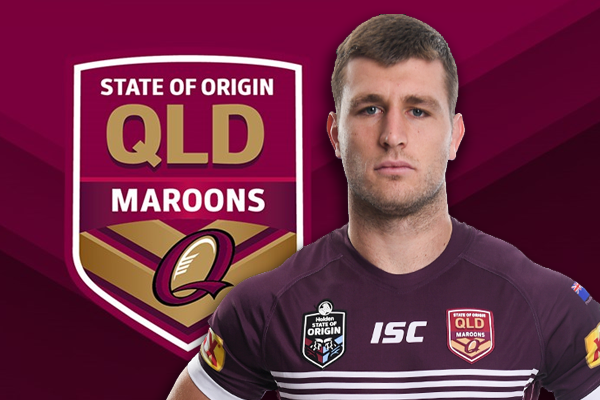 Article image for Maroons star thrilled with Origin selection and coaching reunion