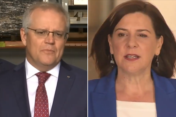 Prime Minister accused of 'propping up' Queensland opposition