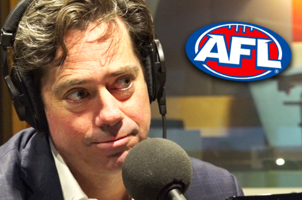 AFL boss' message to Queensland 'on behalf of Victorians'