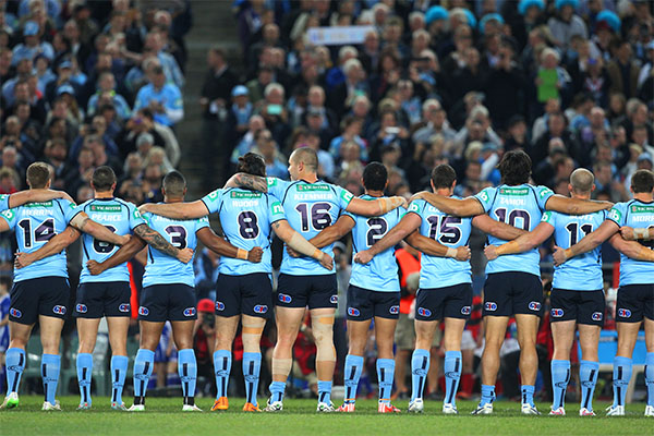 Article image for NRL backflips on plan to scrap National Anthem at Origin