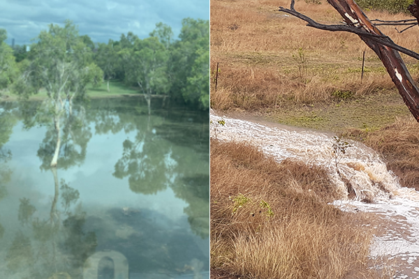 Article image for PHOTOS   Cannon Hill floods and regional dams fill after heavy rain