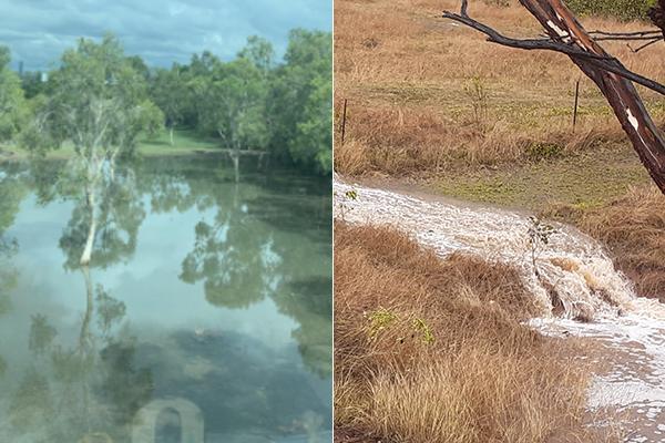 PHOTOS   Cannon Hill floods and regional dams fill after heavy rain