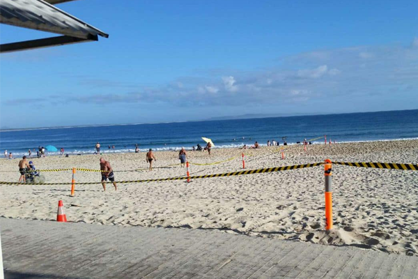 Aftermath of schoolies gathering causes beach closure