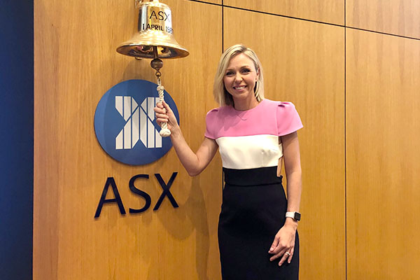 Brooke Corte rings in ASX's most charitable day of the year