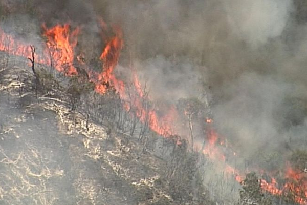 Fraser Island Fire: Four people charged for starting fire