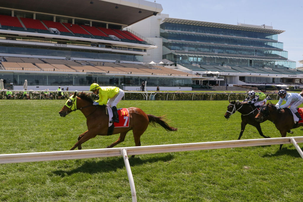 Will silence on the racetrack determine the winner of the Melbourne Cup?