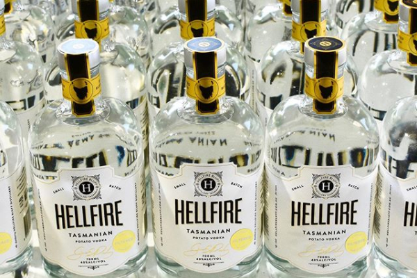 Tasmanian Hellfire producing world class gin