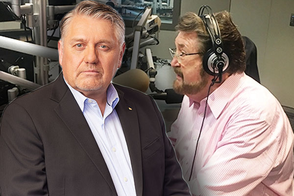 Ray Hadley blasts 'pain in the arse' Derryn Hinch