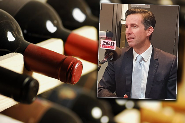 Article image for China's wine sanctions will hurt them more than us, Trade Minister says