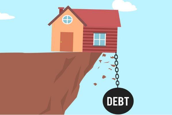 Household debt climbs sharply
