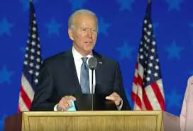 President-elect Joe Biden to unite not divide