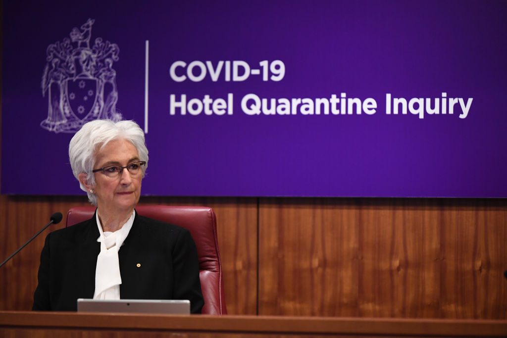 Article image for Calls for Victorian Premier's resignation after hotel quarantine inquiry