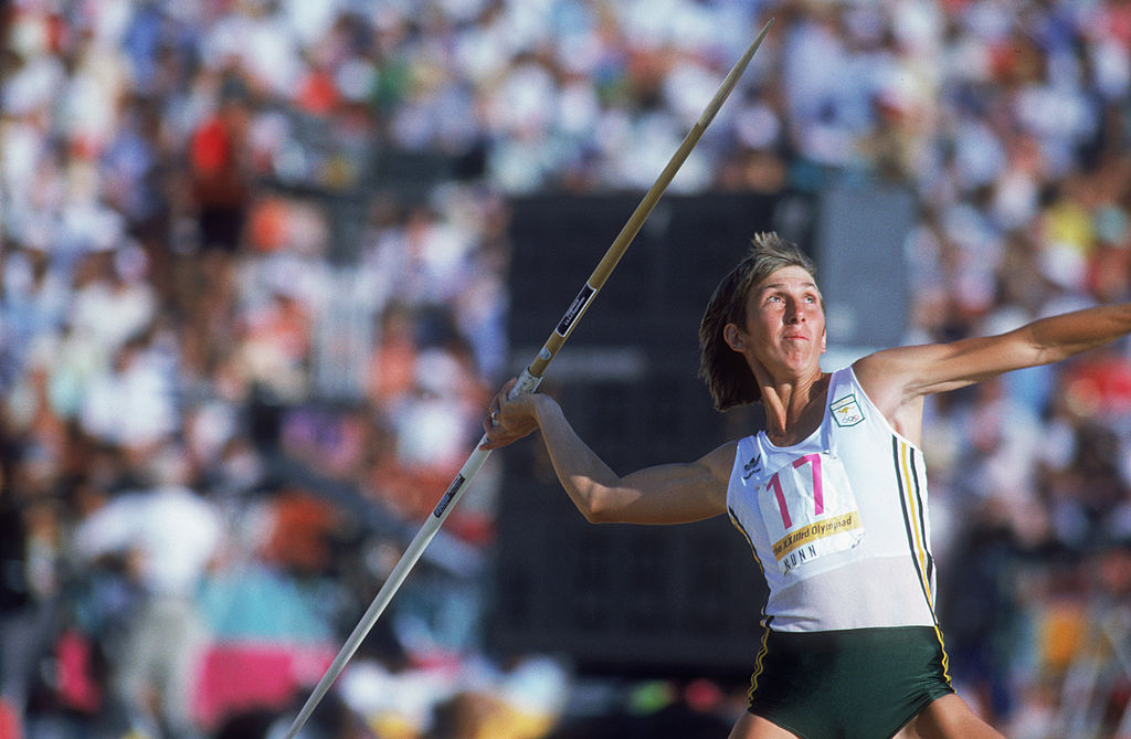 Article image for The hardest secret Olympian Glynis Nunn has had to keep