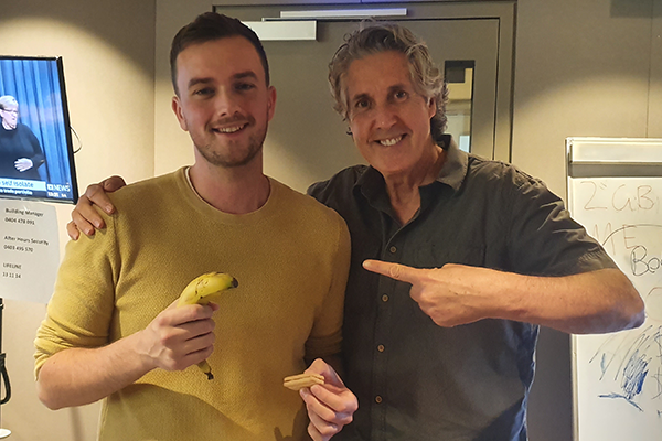 Afternoons producer banished from the biscuit tin with some hypnotic help