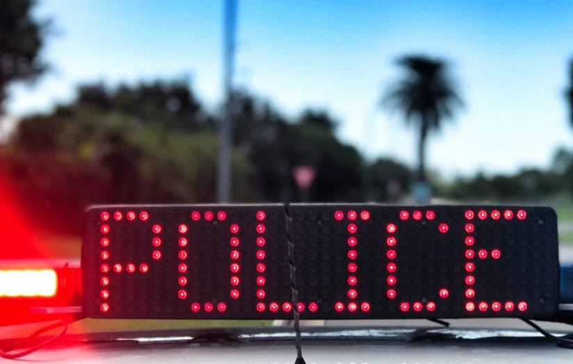 Police out in force over the long weekend
