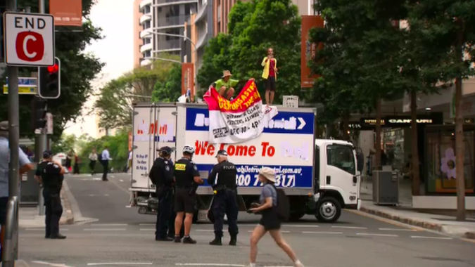 Article image for 'It's got to stop': Lord Mayor fires up over CBD truck stunt