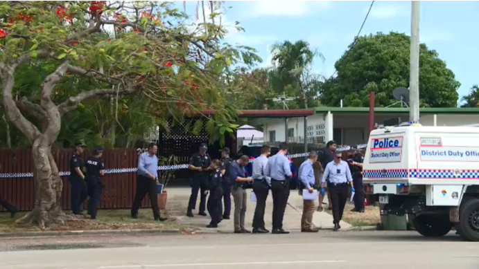Article image for Police launch homicide investigation after two found dead in Townsville home